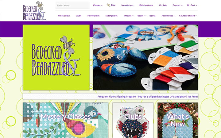 bedeckedandbeadazzled.com website screenshot