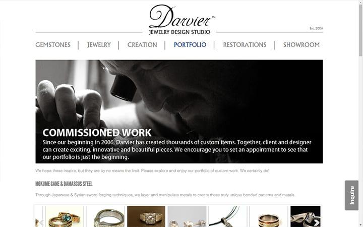 darvier.com website screenshot