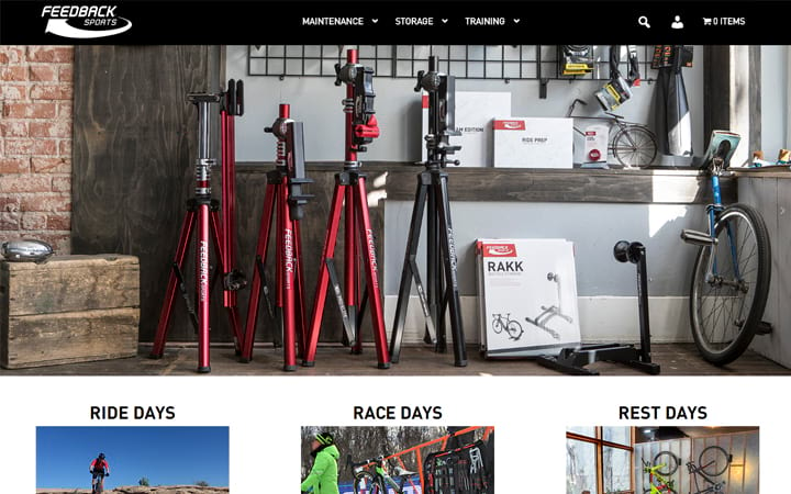 feedbacksports.com website screenshot